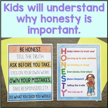 Honesty Activities By Counselorchelsey