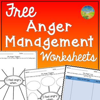 Anger Management Worksheets By Pathway 2 Success