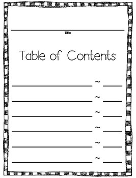 Informational Non Fiction Book Writing Template For Any Topic TpT