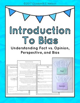 Introduction To Bias Understanding Fact Vs Opinion