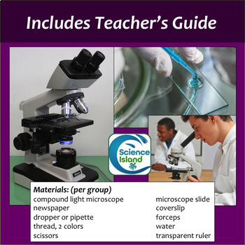 Microscope Lab Using A Compound Light Microscope