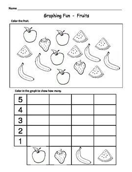 Kindergarten Math Graphs Fun Easy Graph Worksheets