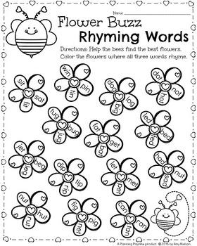 Image Result For Spring Math Worksheets Pre K