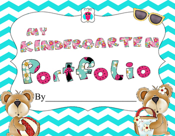 Kindergarten Portfolio Worksheets Teaching Resources Tpt