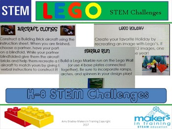 Lego STEM Challenges perfect for a Maker Space    TpT Lego STEM Challenges perfect for a Maker Space