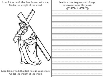 Lent Coloring Page Worksheets Teaching Resources Tpt