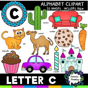 Letter C Clipart 20 Images For Commercial And Personal Use Tpt