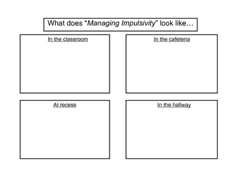 Managing Impulsivity Activity By Practical Resources