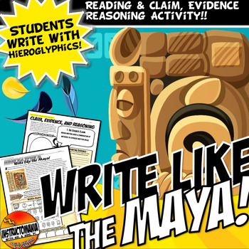 Mayan Math And Heiroglyphics Worksheet Handout
