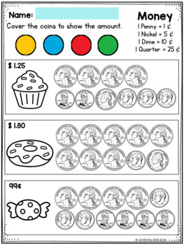 Counting Money Worksheets Counting Coins Worksheets First And Second Grade