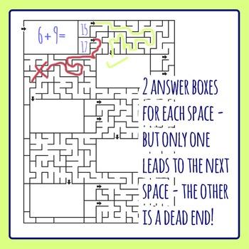 Multi Choice Maze Worksheet Templates Layouts Clip Art
