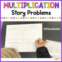 Multiplication Story Problems - Differentiated