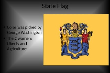 Fist Painted In Colors Of Us State New Jersey Flag Stock Photo