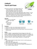 Oobleck Worksheet Teaching Resources