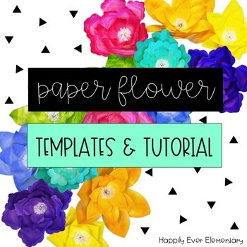 Paper Flower Templates Tutorial And Svg Cliparts For Cricut Or Silhouette