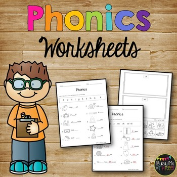 Phonics Worksheet Pack Phonograms Kindergarten Amp First