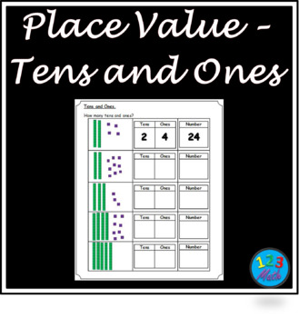 Tens And Ones Worksheets Teachers Pay Teachers
