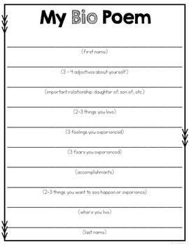 Poetry Book Template By Rachel K Resources Teachers Pay