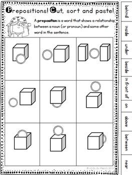 Prepositions Worksheet Freebie By Lindy Du Plessis