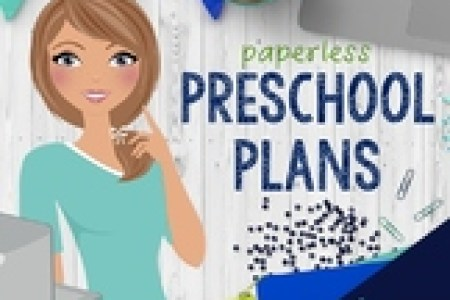 Preschool Lesson Plan Template Weekly Teaching Resources   Teachers     Preschool Lesson Plan Template for Google Drive in OCEAN BRIGHT COLORS