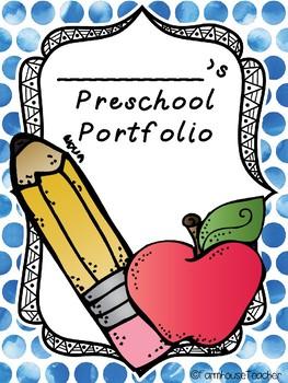Preschool Portfolio Pack By FarmhouseTeacher Teachers Pay Teachers