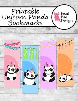 printable unicorn bookmarks # 9