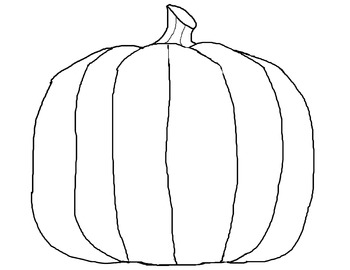 Pumpkin Coloring Page Worksheets Teaching Resources Tpt