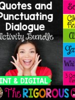 Punctuating Dialogue