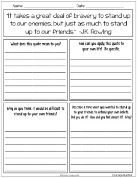 Growth Mindset Quotes Posters And Worksheets Free