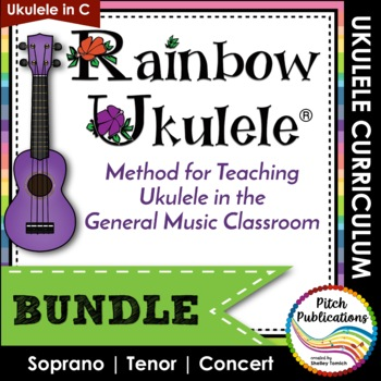 Ukulele Program - Rainbow Ukulele {BUNDLE} - Lessons ...
