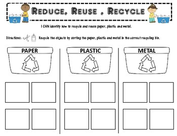 Recycling Reduce Reuse Recycle