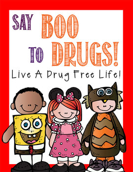 Red Ribbon Week Just Say No Activities Pledge Cards Bookmarks Theme Posters