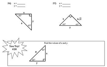 Unit 8 Right Triangles And Trigonometry Key / Unit 6