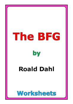 Roald Dahl The Bfg Worksheets By Peter D