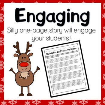 Rudolph S Red Nose Pedigree Worksheet By Classroom 214