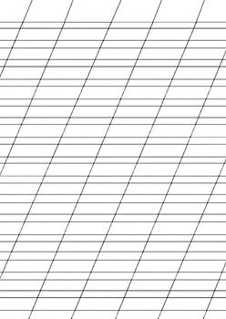 Russian Handwriting Worksheet Practice