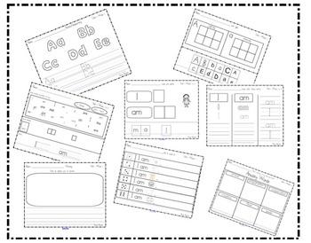 Scott Foresman Kindergarten Reading Street Unit 1