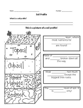 Soil Profile Worksheets Teaching Resources Teachers Pay