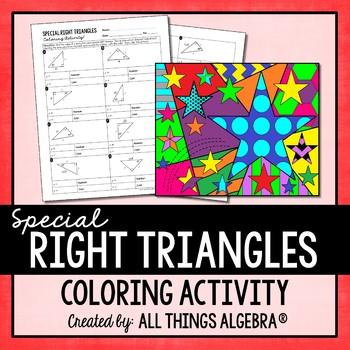 Trigonometry Practice Coloring Activity Gina Wilson ...