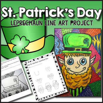 Celebrate St. Patrick's Day in your classroom with art projects, ideas, and activities for kids. These cute art projects for kids are suitable for teaching a range of art techniques and skills and can be done as either an artwork or craft. Read this post to find art ideas for kids, directed drawings, coloring pages, and St. Patrick's Day teacher shirts to make your St. Patty's Day celebration complete.