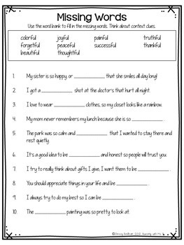 Suffix Activities Ful And Less Poem Printables And