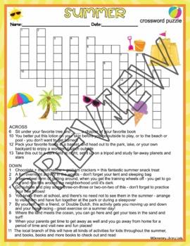 100 Summer Vacation Words Answer - Summer Word Scramble ...