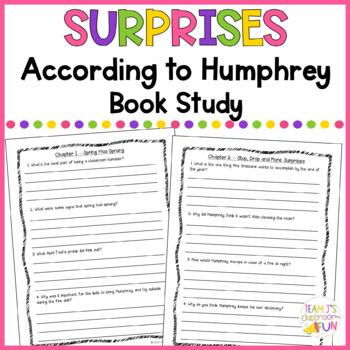 Surprises According to Humphrey - Book Study