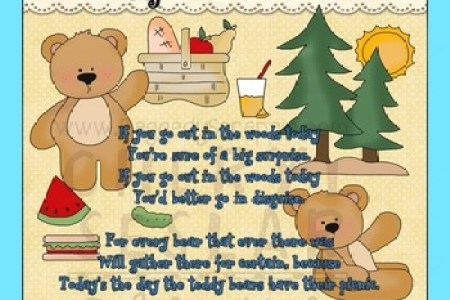 And Activities For Toddlers Preschoolers Baby Shower Invitations Teddy Bear Theme Gingham Bears Picnic