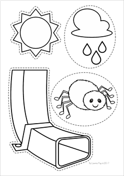 The Itsy Bitsy Spider The Incy Wincy Spider Worksheets