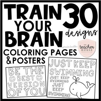 Brain Coloring Worksheets Teaching Resources Tpt