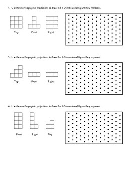 Transforming Orthographic Projections Into Isometric