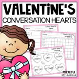 Valentine's Day - Conversation Heart Fun {FREE}