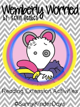 Wemberly Worried Back To School Activities By Sunny Kinder