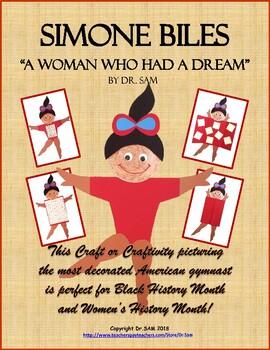 women s history month black history month simone biles american gymnast
